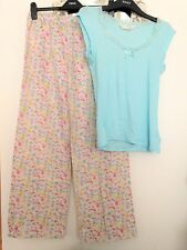 Women's multicoloured pyjamas with Easter chick / bird print, PRIMARK, Small