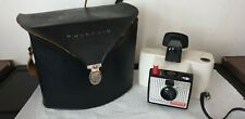 Polaroid camera with case