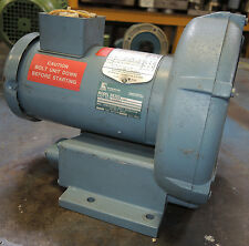 Rotron Regenerative Blower Model DR202Y72 - .33 HP Max Flow 52 SCFM Nice! Clean!