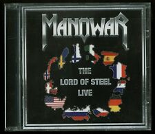 Manowar The Lord Of Steel Live German CD new