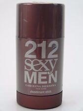 CAROLINA HERRERA 212 SEXY  MEN 75ML 2.1 OZ DEODORANT STICK