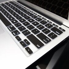 """BLACK Silicone Keyboard Cover for Macbook Air 11"""" A1370"""