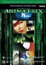 (DVD Movie) The Animatrix (2 Disc: DVD & CD Album) (Ani Matrix) (2003) (M) R4