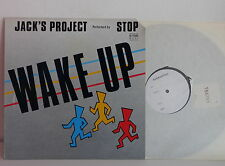 "MAXI 12"" JACK'S PROJECT Wake up 1567916 TEST PRESSING"