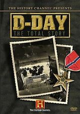 D-Day: The Total Story (DVD, 2004, 2-Disc Set)Free Media Mail (US)