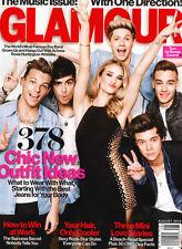 Glamour USA,ONE DIRECTION,Zayn Malik,Harry Styles,Rosie Huntington-Whiteley
