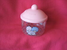 Sanrio Little Twin Stars LOVELY POT (JAR) VINTAGE COLLECTIBLE 1976