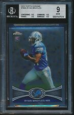 2012 Topps Chrome rookie #186A Ryan Broyles rc BGS 9 Mint