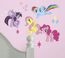 MY LITTLE PONY wall stickers 31 decals Cadence Rainbow Dash MLP glitter horses