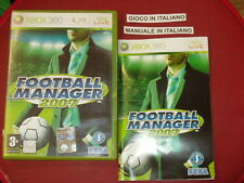 FOOTBALL MANAGER 2007 XBOX 360 PAL COMPLETO