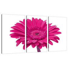 Set of 3 Panel Pink Canvas Wall Art Pictures Girls Bedroom Prints 3099