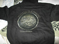 Game of thrones stark , winter is coming Large  Hoodie