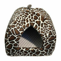 "Rosewood  Cat Igloo  Pyramid Bed 16"" Warm Kitten Covered cosy Bed"