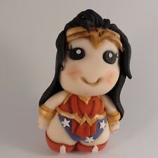 Wonder woman cake topper Superheros handmade edible birthday party unofficial