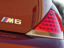 Genuine BMW M6 (E63/E64) BAGAGLIAIO CROMATA EMBLEM BADGE LOGO sign