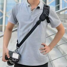 Universal Camera Shoulder Neck Strap Belt Sling for Canon Nikon Sony DSLR Black