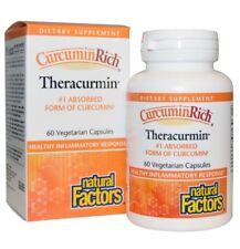 Natural Factors CurcuminRich Theracurmin, 60 Veggie Caps inflamatory health
