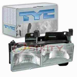 TYC Left Headlight Assembly for 1992-1999 GMC C2500 Suburban Electrical yz