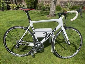 Giant TCR Advanced Dura Ace Carbon Fibre Road Bike Size: L