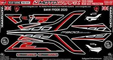 BMW F900R 2020 Motorcycle Rear Fairing Paint Protector Gel Protection Decal Kit