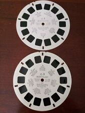 """""""Morphology of Succulents"""" View-master #C-1, C-3. 1945. Used condition."""