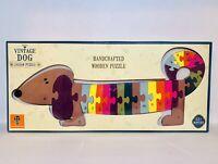 Orange Tree Vintage Dog  Alphabet Jigsaw Wood Puzzle, Educational Toy New RARE