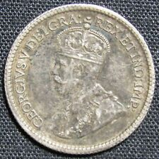 1913 Canada 5 Cents Silver Coin