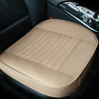 Universal Car Seat Cover Summer Breathable PU Leather Cushion Front Chair Pad
