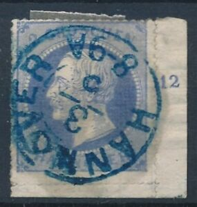 [7433] Germany Hannover good stamp very fine used