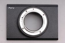Arca 6x9 Horseman 6x9 a Nikon D3x D3s D800 D700 D300 D90 D7000 D3000 Adapter