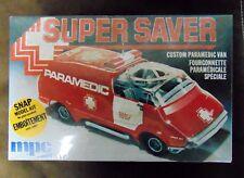Super Saver Paramedic Van Snap Model Kit MPC - New (Sealed)