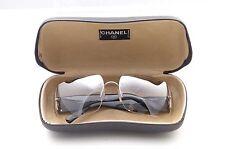CHANEL Damen-Sonnenbrillen im Rechteck-Stil aus Kunststoff