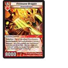 Kaijudo X3 FIREMANE DRAGON Rare #97/160 13GAU (Playset) Quest for the Gauntlet