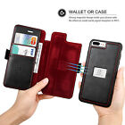 Magnetic Genuine Leather Phone Case Cover For Apple iPhone 6s 7 Plus Accessories