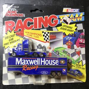 1991 Racing Champions 1:87 Micro Team Transporter NASCAR Maxwell House #22