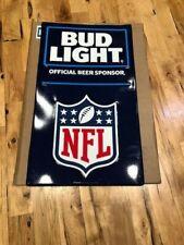 """New NFL Bud Light Beer Metal Sign Official Beer Sponsor 20.5""""x35.5"""" Poster size"""