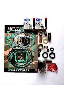 KTM EXC 125 ENGINE REBUILD KIT 2007-2015 PISTON KIT CONROD GASKETS SEAL MAINS