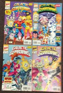 Galactic Guardians # 1,2,3,4 1994 Ghost Rider Complete Lot set Nm