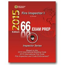 66 Fire Inspector I ICC Exam Practice Questions Test Workbook 2015