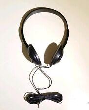 Vintage Panasonic XBS Headphones Adjustable Stereo Headset Extra Bass *TESTED*
