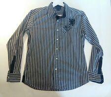 Camisa De Hombre La Martina BLACK Slim Fit Talla XL