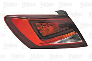 LED Outer Wing Tail Light Rear Lamp VALEO Fits Left SEAT Leon Hatchback 2012-