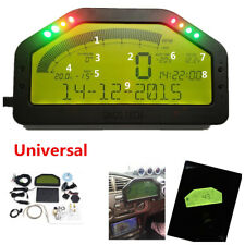 Car SUV Dashboard LCD Screen Rally Gauge Dash Race Display Bluetooth Sensor Kit