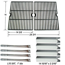 Uniflame GBC850W Gas Grill 4 Burner Replacement Burner,Heat plate,Cooking Grid