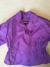 Ladies Textile Motorcycle Jacket and Insulated Chaps Size L