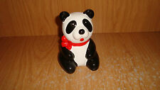 Panda tooth brush  holder - ceramic -new w/o box --1980's inventory