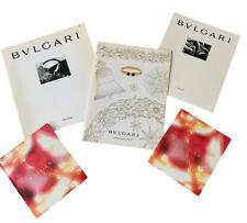 BVLGARI Catalog Lot Luxury Jewelry Hardcover Softcover Price List