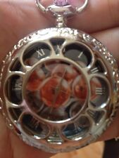 Anime Dragon Ball Z Cosplay seven balls Hollow Out Stainless Steel Pocket Watch