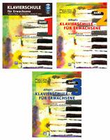 Klavierschule für Erwachsene - Band 1 (mit CD) oder Band 2 (ohne CD)