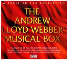 The Andrew Lloyd Webber Musical Box 3 CD, Joseph, Cats, Evita, Phantom Starlight